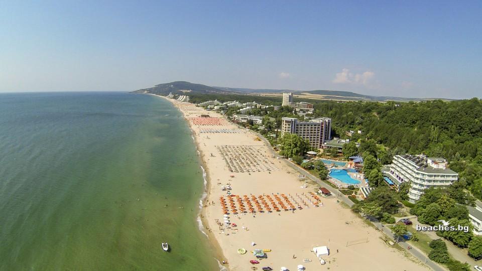 beaches.bg -Централен плаж Албена България