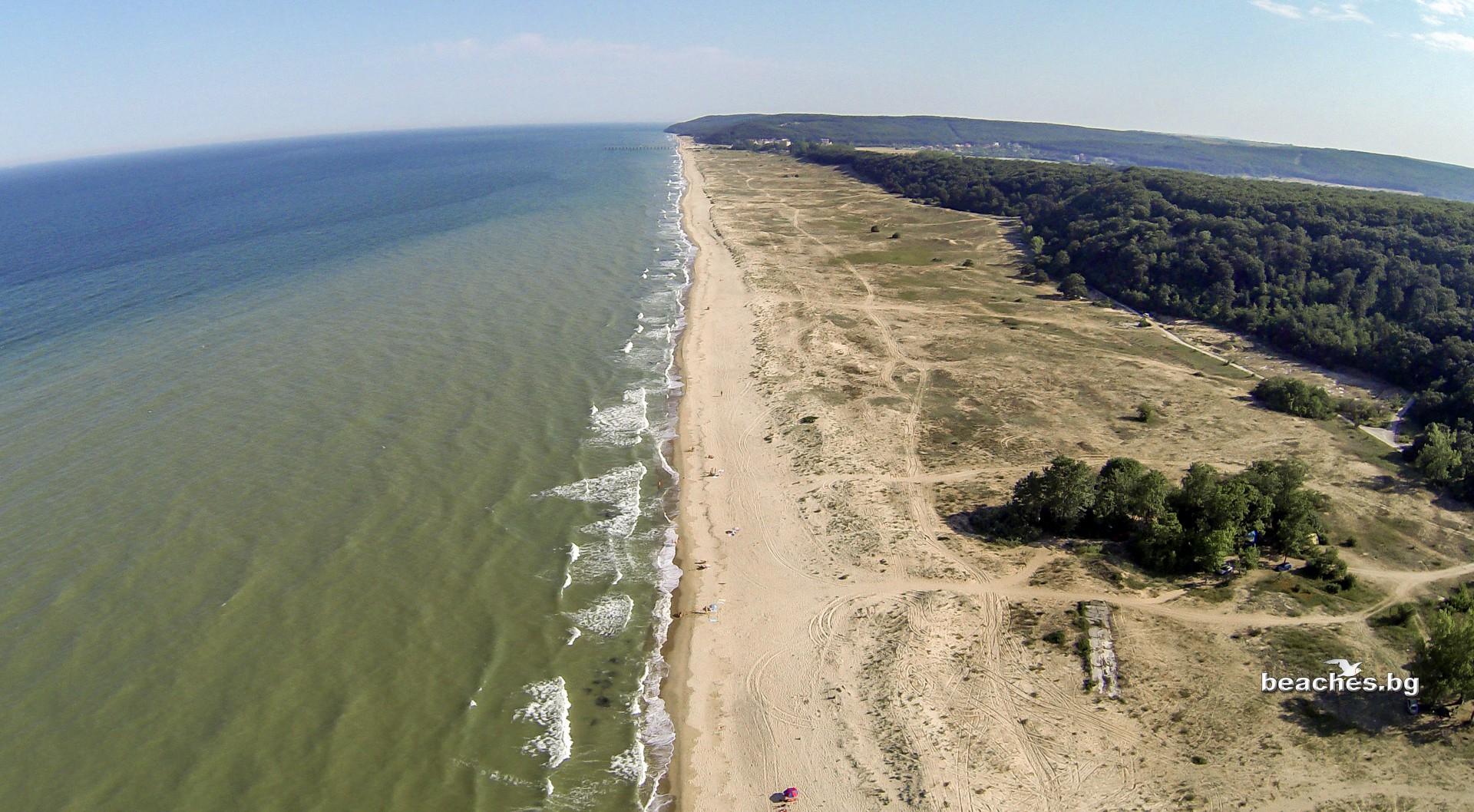 beaches.bg - Долни Чифлик – Плаж Камчийски пясъци, България/ Kamchia sands beach, Bulgaria