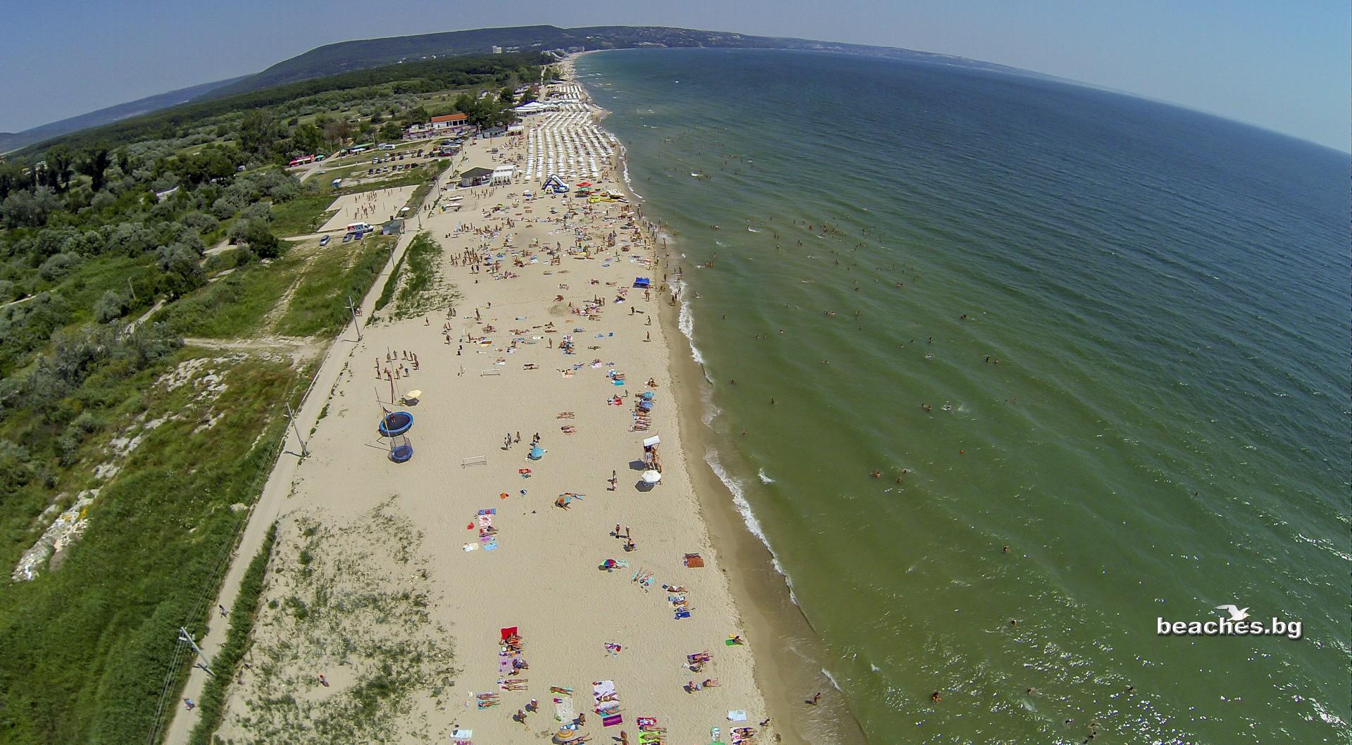 beaches.bg -Централен плаж Кранево България