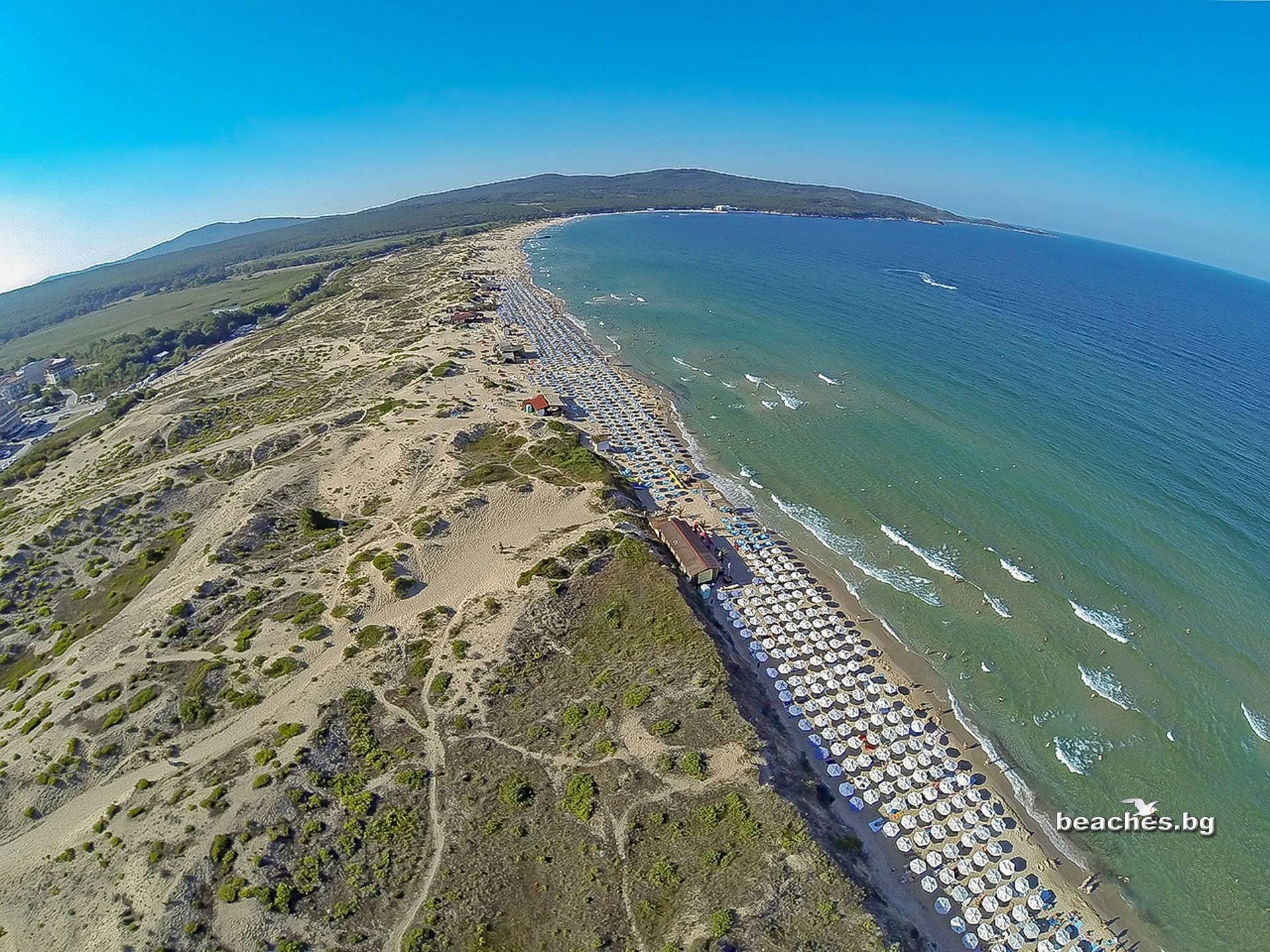 beaches.bg - Северен Плаж Приморско, България/ Primorsko North beach, Bulgaria