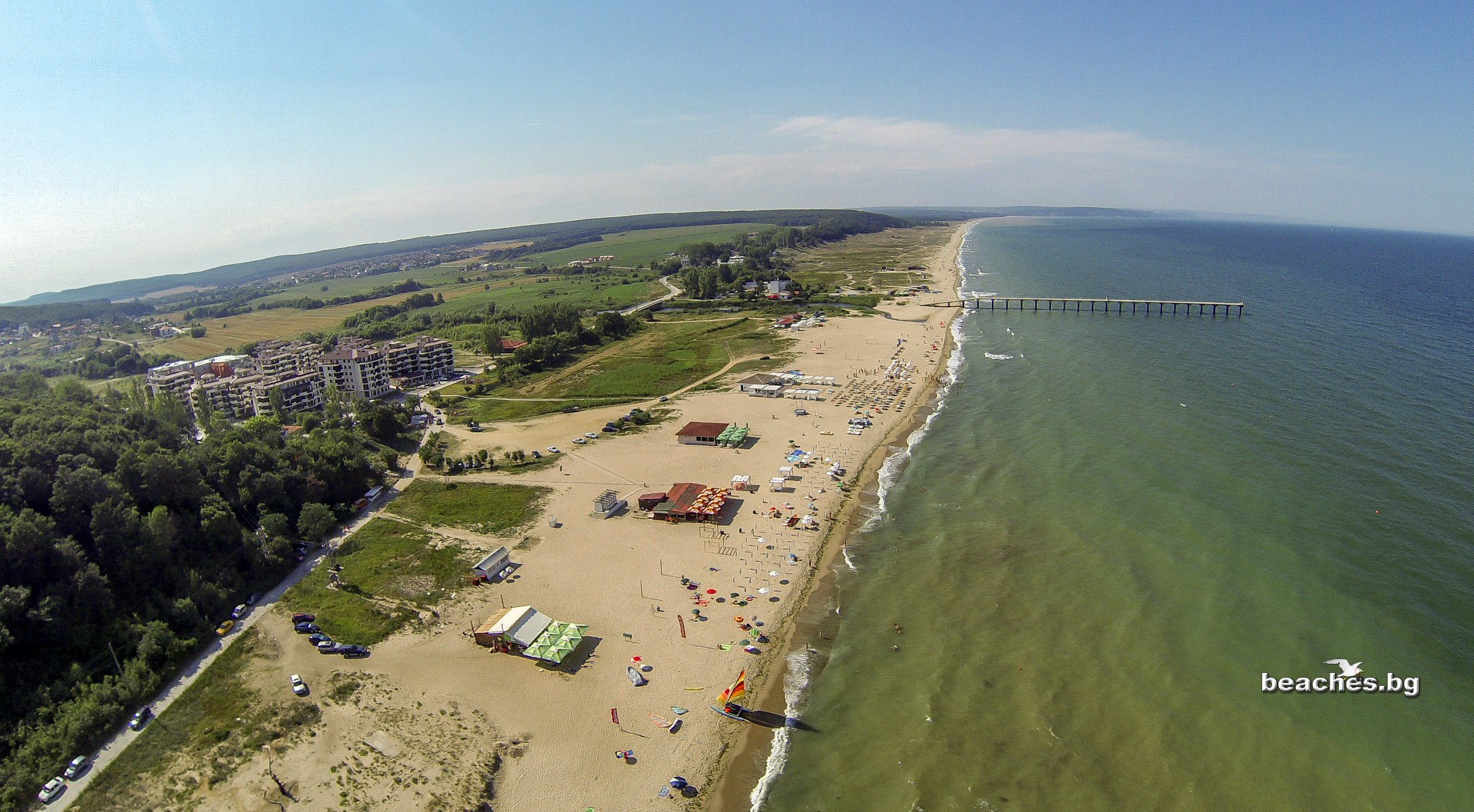 beaches.bg - Плаж Шкорпиловци, България