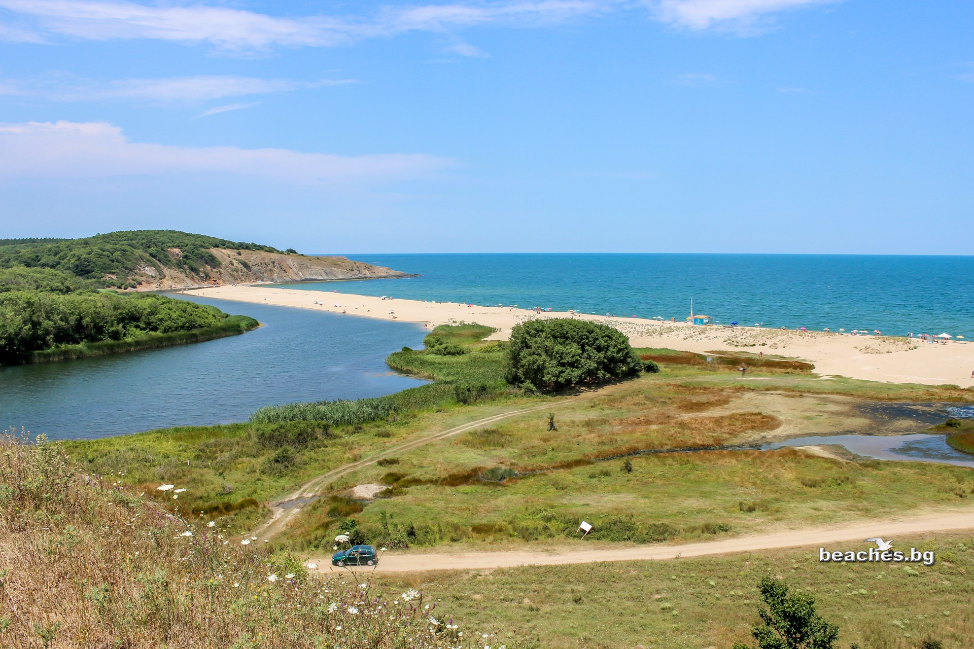 beaches.bg - Плаж река Велека, Синеморец, България/ River Veleka Beach, Sinemorets, Bulgaria
